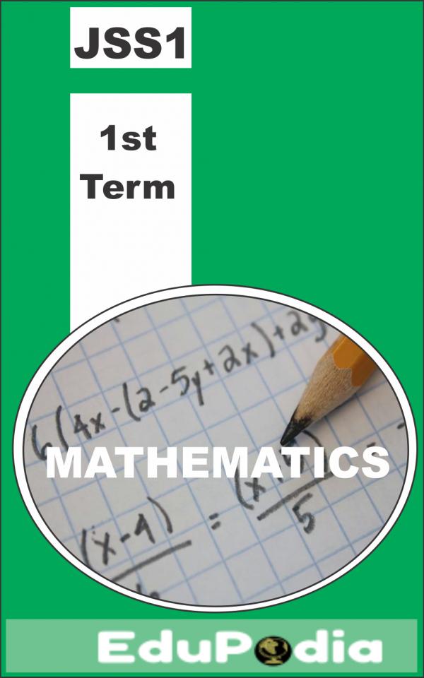 First Term JSS1 Mathematics lesson note