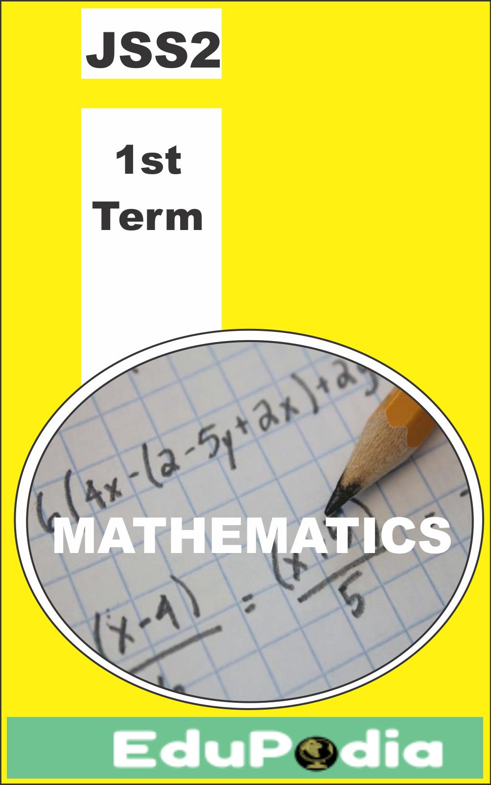 First Term JSS2 Mathematics Lesson Note