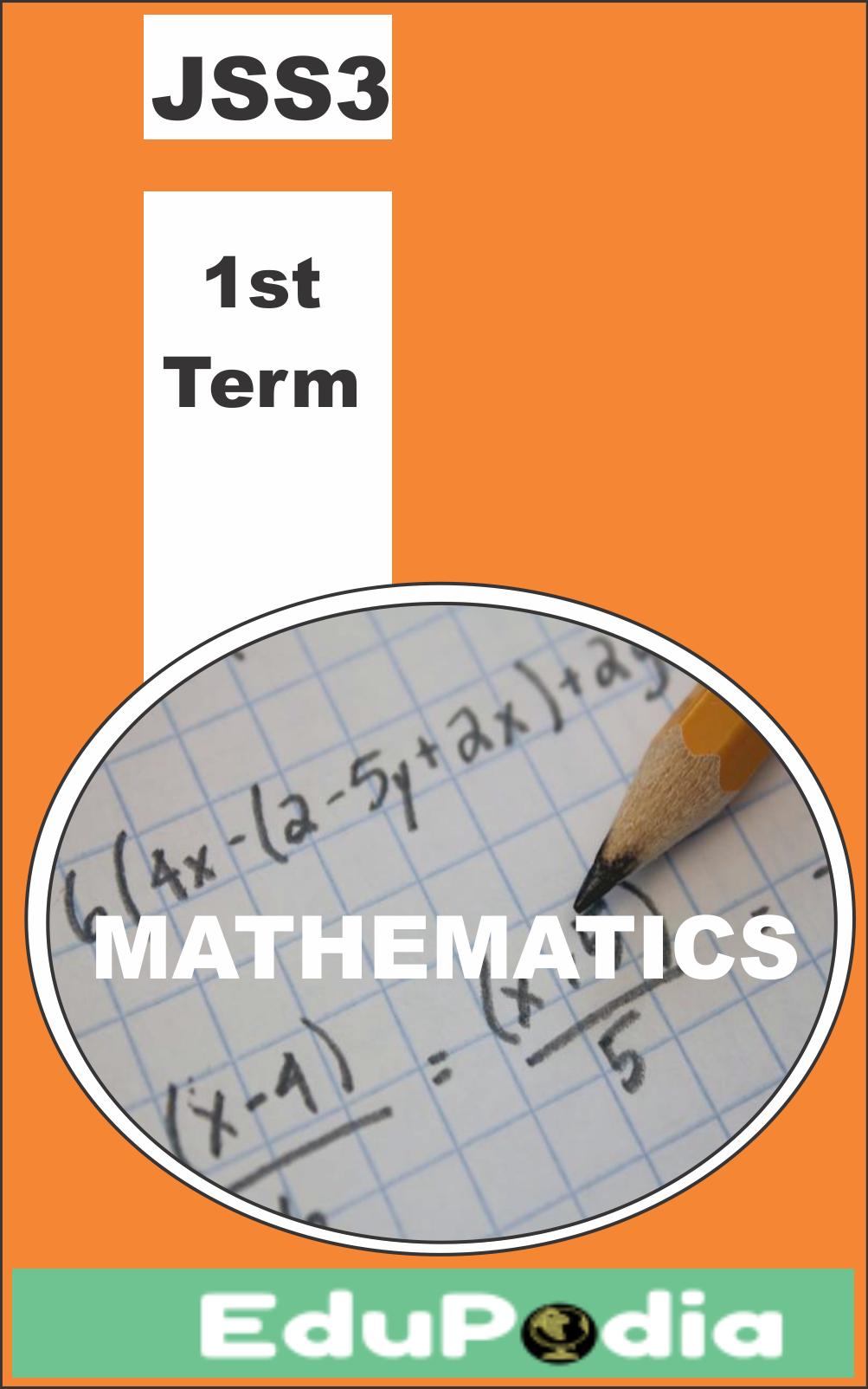 First Term JSS3 Mathematics Lesson Note