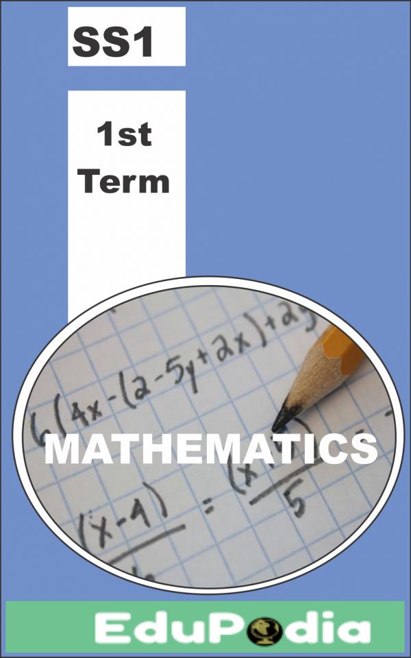 First Term SS1 Mathematics Lesson Note