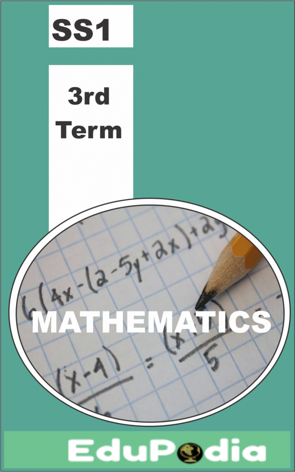 Third Term SS1 Mathematics Lesson Note