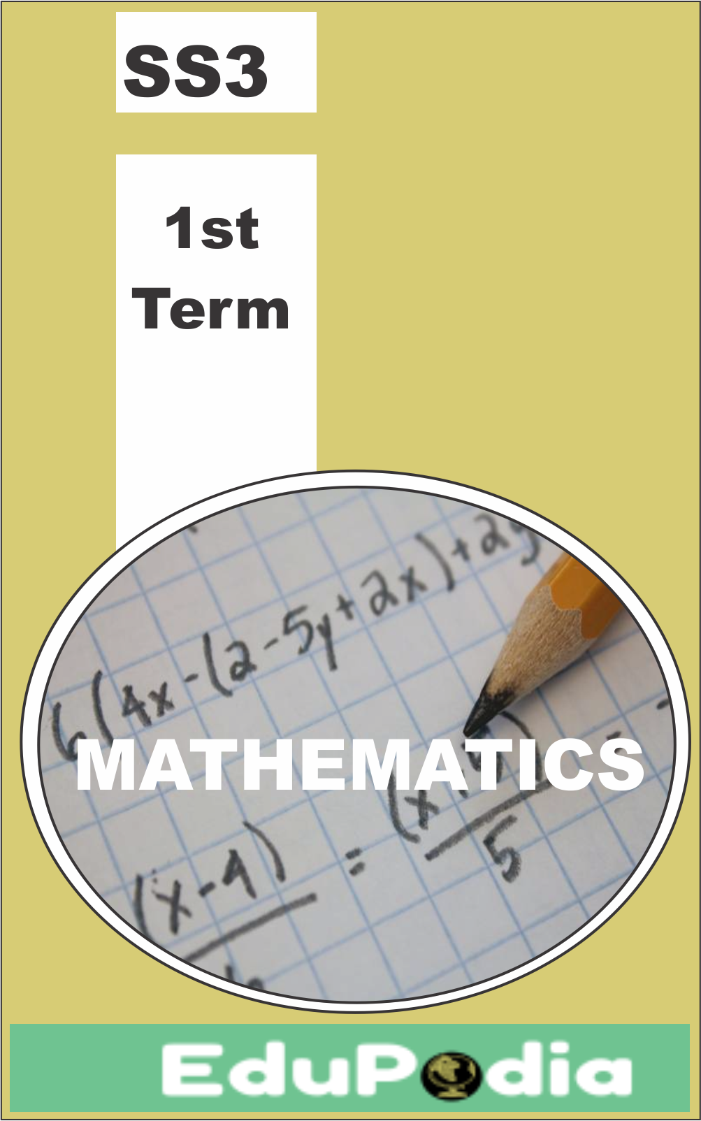 First Term SS3 Mathematics Lesson Note