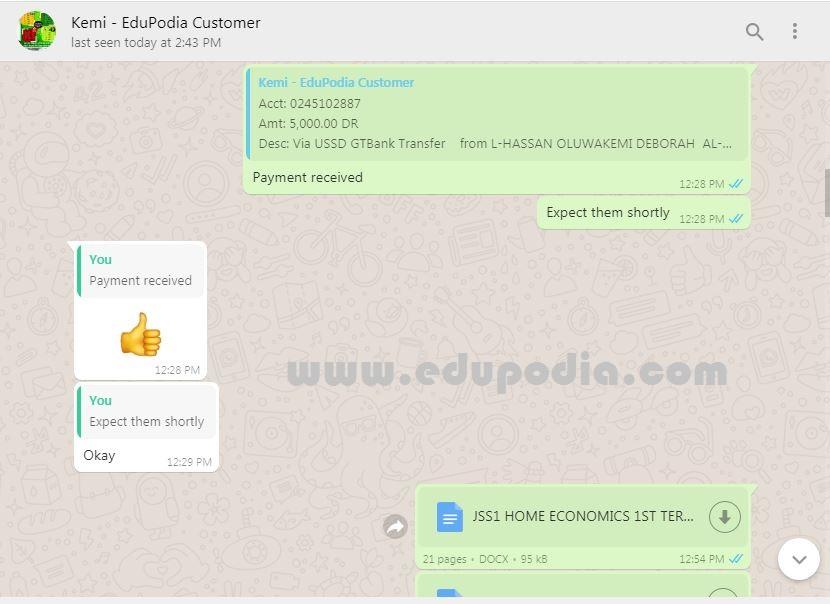 Download Secondary School Lesson Note - EduPodia
