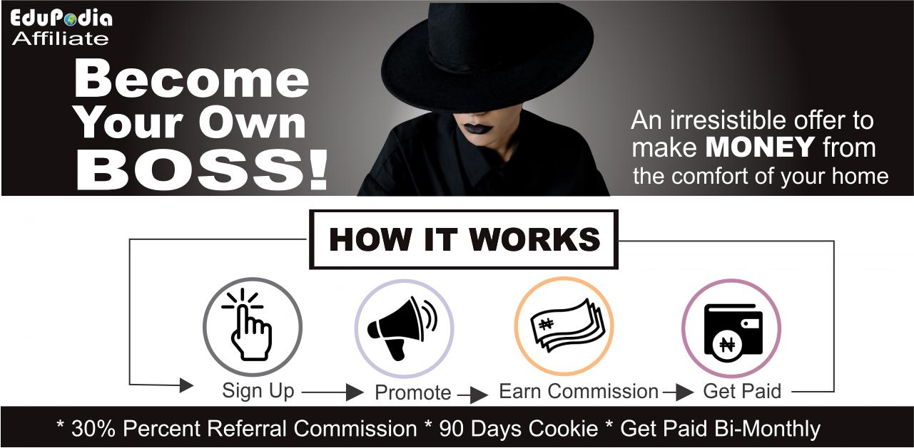 EduPodia Affiliate Program - Make money anywhere