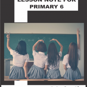 Lesson Note for Primary 6