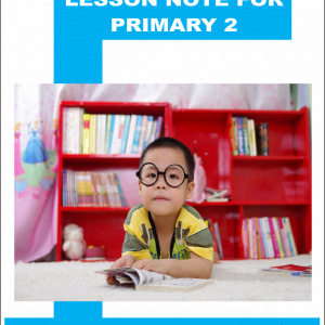 lesson note for primary 2