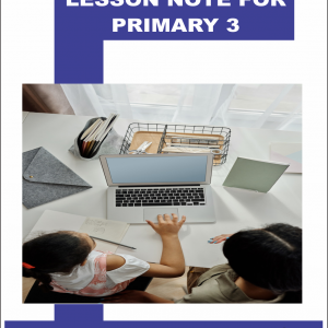 Lesson Note for Primary 3